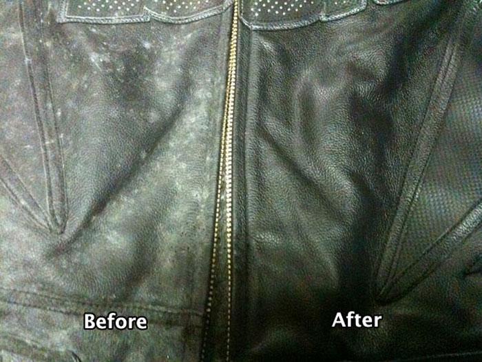 Áo da sẽ đẹp như mới sau khi được vệ sinh đúng cách