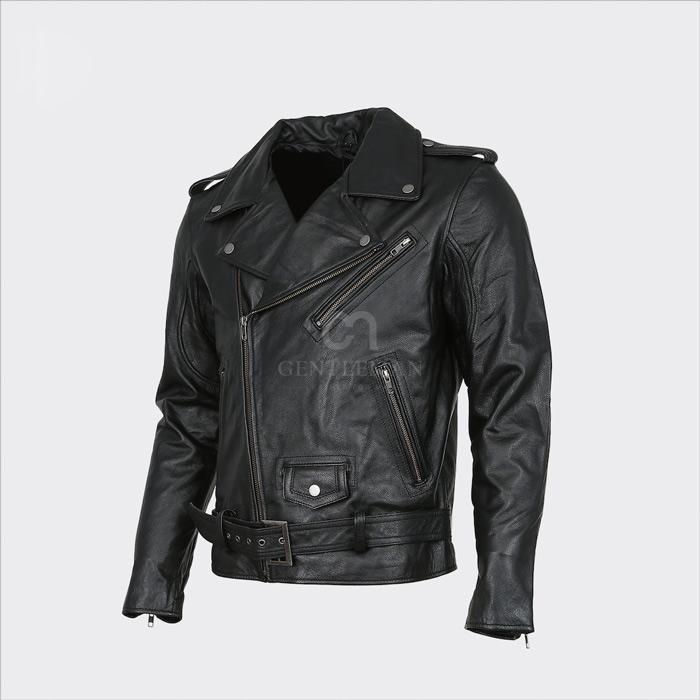 """Mẫu áo da Nappa Biker là một chiếc áo biker cổ điển dành cho các """"dân chơi"""""""