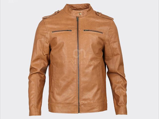 20+ mẫu áo khoác màu da bò cực chất cho quý ông sành điệu