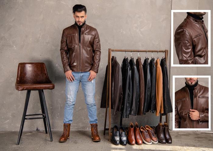 Hãy chú ý tới những chi tiết nhỏ trên áo khi mua áo da bò thật