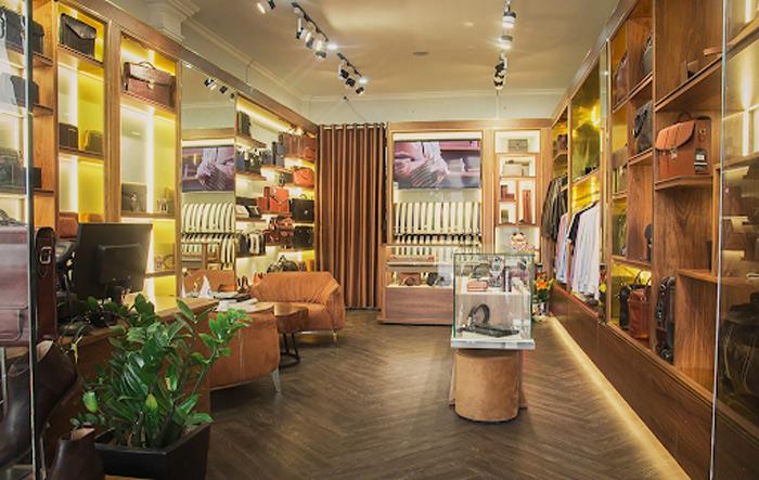Ghé qua cửa hàng Gentleman để tận hưởng không gian đồ da đẳng cấp