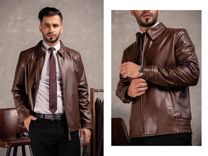 Áo da thật giúp tôn lên sự thanh lịch, cá tính của người mặc