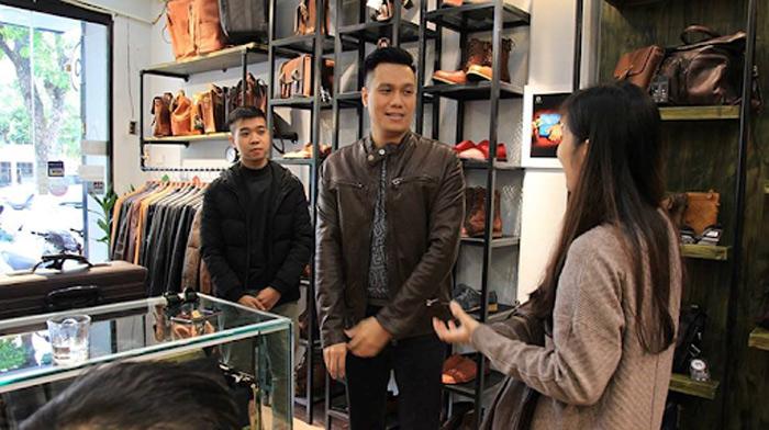 Hãy lựa chọn những thương hiệu đồ da uy tín, được nhiều người tin tưởng để tìm mua áo da là cách mua sắm thông minh