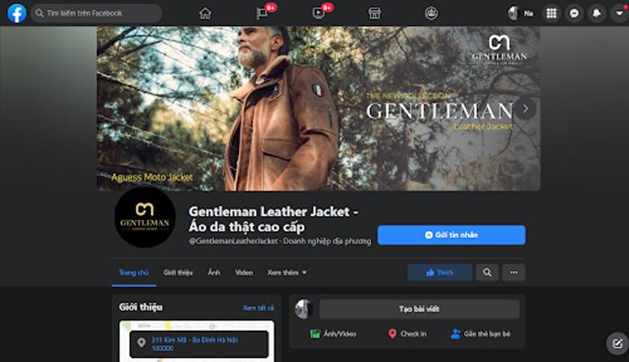 Hãy theo dõi trang Fanpage của Gentleman để nhận được nhiều thông tin mới nhất