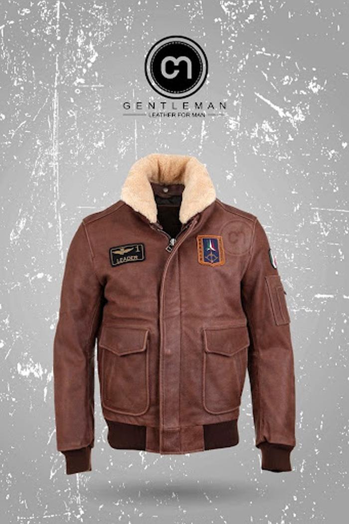 Shearling Jacket rất thời trang với chất liệu bên trong được làm từ lông mềm ấm áp